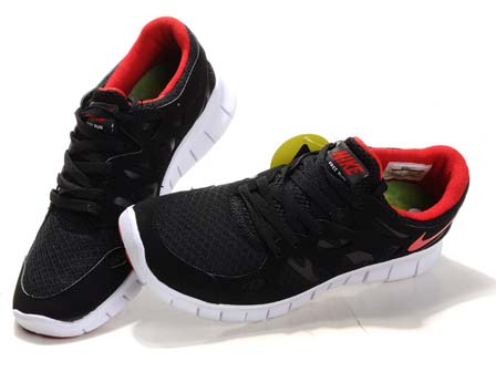 Nike Free Run 2 Red And White